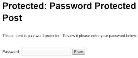 поле за въвеждане на парола