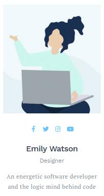 Изглед на панел 'Person'