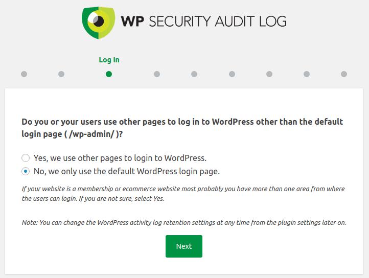 Начин на логване в WordPress