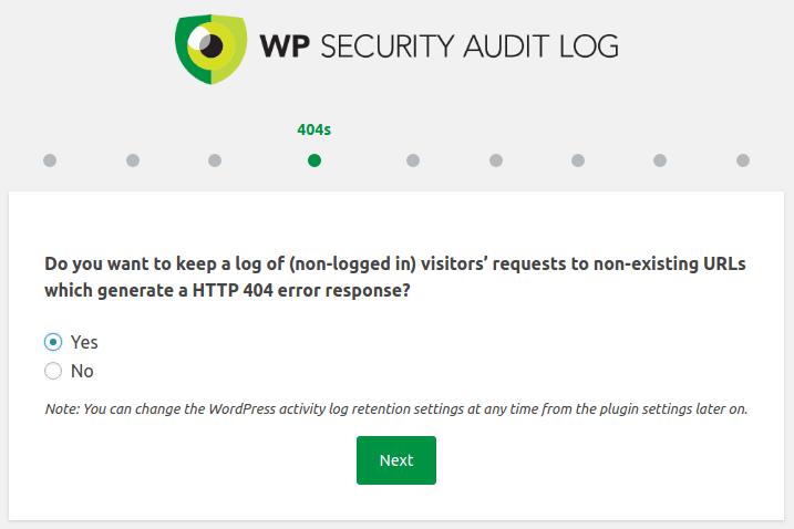 Записване на заявки с error 404