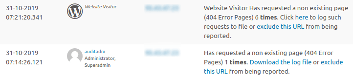 Запис за заявка 404 Error Pages