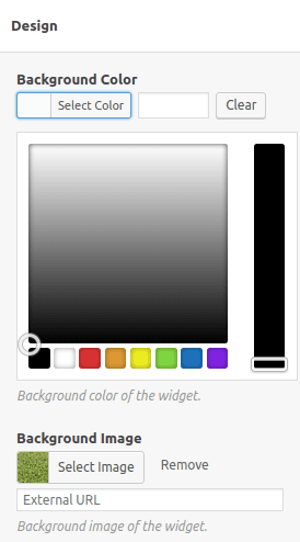 Избор на фоново изображение на CTA банера