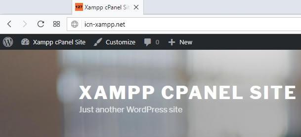 зареждане на сайта в браузер